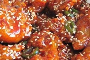 닭강정,강원도 속초시,지역음식